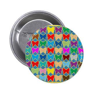 El torbellino de Butterfyl de los guijarros de la Pin Redondo 5 Cm