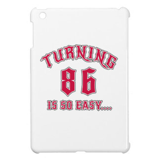 El torneado de 86 es cumpleaños tan fácil