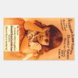 El tornillo de la publicidad del vintage del pegat