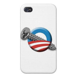 El tornillo de Obama iPhone 4/4S Carcasa