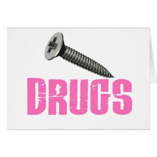 El tornillo droga rosa felicitaciones