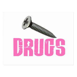El tornillo droga rosa postales