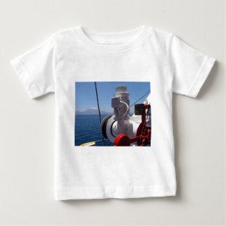 El torno y la costa africana de la nave remera