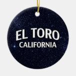 EL Toro California Ornaments Para Arbol De Navidad