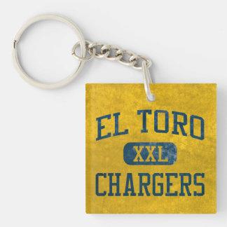 El Toro Chargers Athletics Keychain