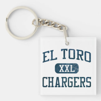 El Toro Chargers Athletics Keychain