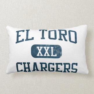 El Toro Chargers Athletics Lumbar Pillow