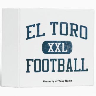 El Toro Chargers Football 3 Ring Binder