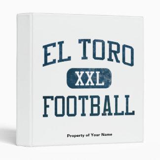 El Toro Chargers Football Binder