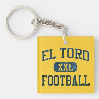El Toro Chargers Football Keychain