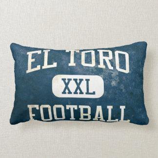 El Toro Chargers Football Lumbar Pillow