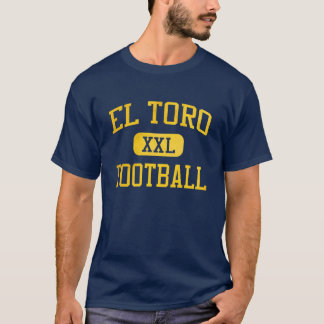El Toro Chargers Football T-Shirt
