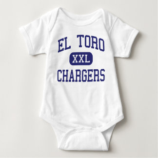 El Toro - Chargers - High - Lake Forest California Baby Bodysuit