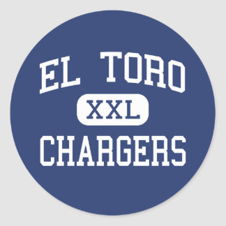 El Toro - Chargers - High - Lake Forest California Classic Round Sticker