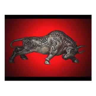 El Toro de Hierro Postcard