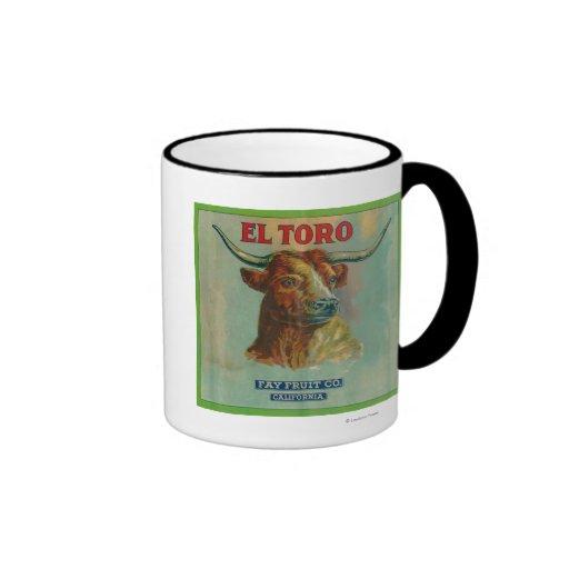 El Toro Orange Label Mugs