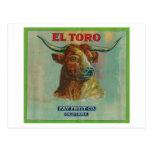 El Toro Orange Label Postcard