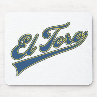 El Toro Script Mouse Pad