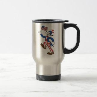 El | torpe patriótico taza térmica