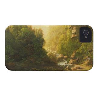 El torrente de la montaña, c.1820-30 (aceite en iPhone 4 protector