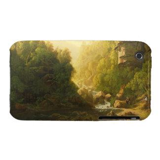 El torrente de la montaña, c.1820-30 (aceite en iPhone 3 funda
