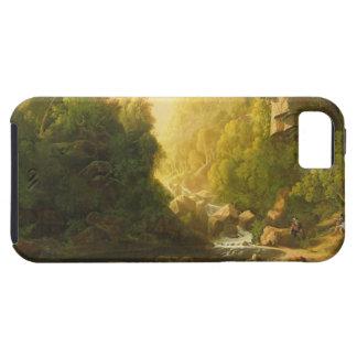 El torrente de la montaña, c.1820-30 (aceite en iPhone 5 funda