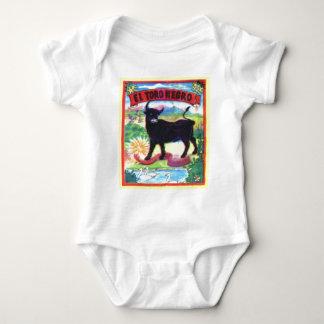 El Torro Negro Baby Bodysuit