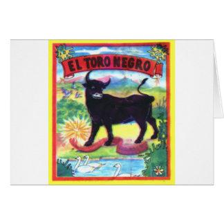 El Torro Negro Card