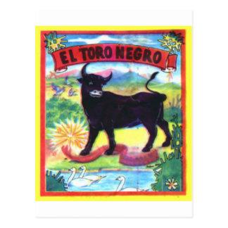 El Torro Negro Postcard