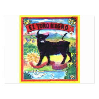 El Torro Negro Postcards