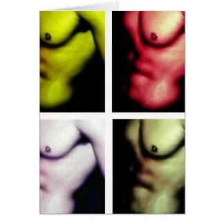 El torso de Nick www AriesArtist com Tarjetón