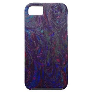El torso negro (cuerpo humano abstracto) iPhone 5 protectores
