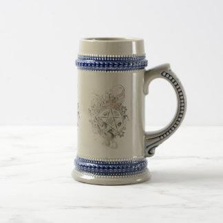 El tostar y garrafa ceremonial Stein - 2 del Penta Taza De Café