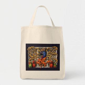El tote del Birder de BohanArt (orgánico) Bolsa Tela Para La Compra