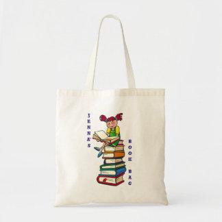 El tote lindo del niño y del lector/la bolsa de