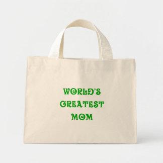 El tote más grande de la mamá del mundo bolsas de mano