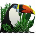 El Toucan magnífico Fotoescultura Vertical