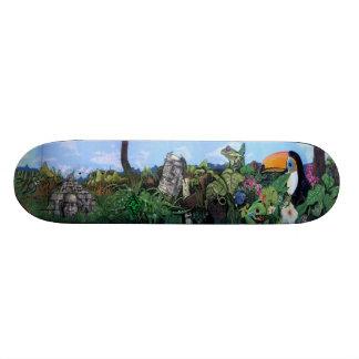 El Toucano Ruins - Sk8 Street Art Skate Board Deck