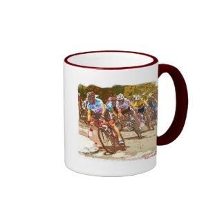 el Tour de Francia Taza De Dos Colores
