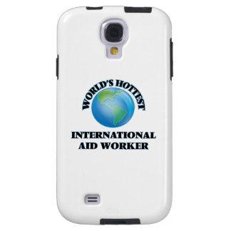 El trabajador de la ayuda internacional más