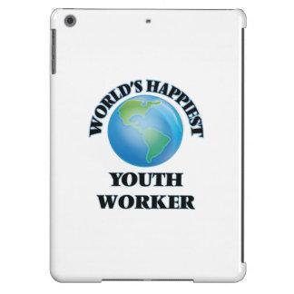 El trabajador más feliz de la juventud del mundo funda para iPad air