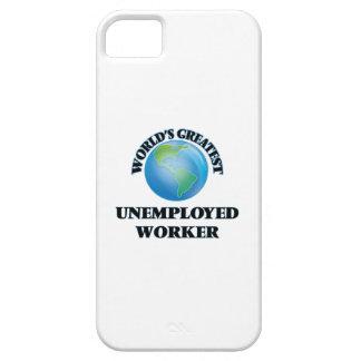 El trabajador parado más grande del mundo iPhone 5 protectores