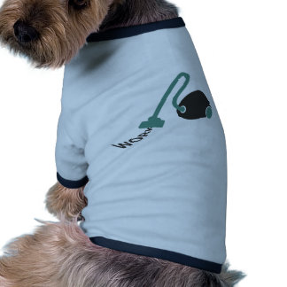 el trabajo chupa camiseta de perro