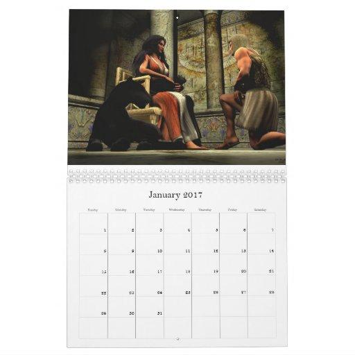 El trabajo de arte de Delilah K. Stephans 2011 Calendarios