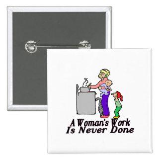 El trabajo de la mujer nunca se hace pin