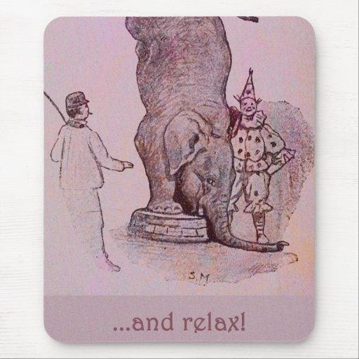 El trabajo de un elefante alfombrilla de ratón