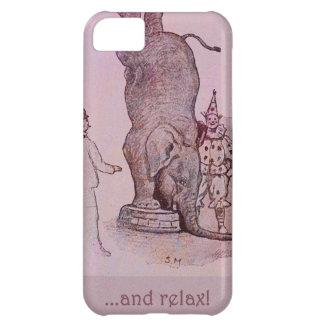 El trabajo de un elefante funda para iPhone 5C