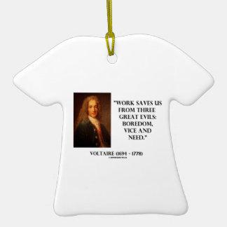 El trabajo de Voltaire nos ahorra aburrimiento de  Ornamento Para Reyes Magos