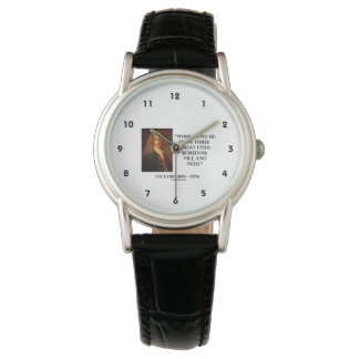 El trabajo de Voltaire nos ahorra aburrimiento de Reloj