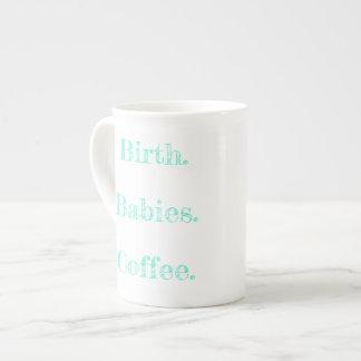 El trabajo del nacimiento es la MEJOR taza de café Taza De Porcelana